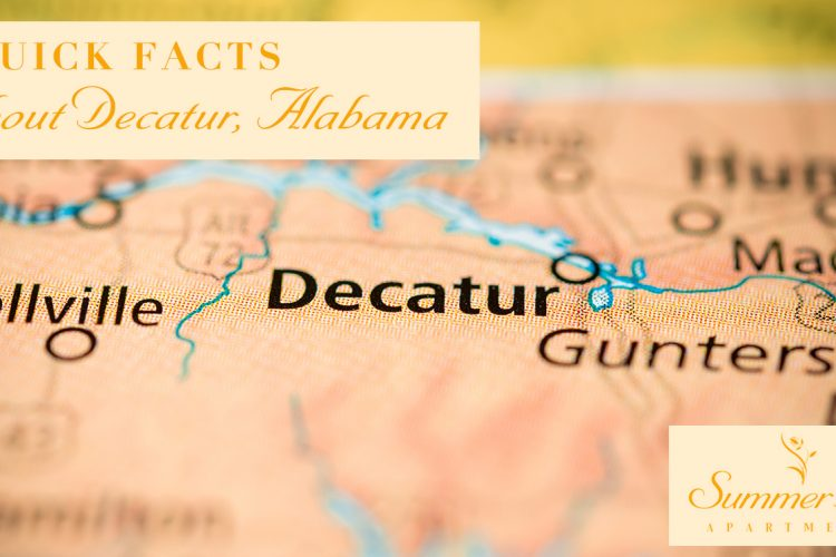7 Quick Facts About Decatur, Alabama