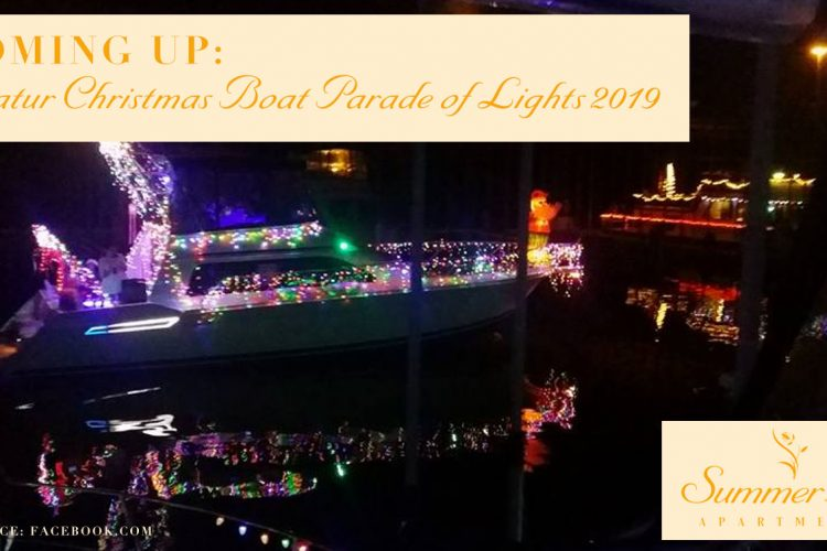 Coming Up: Decatur Christmas Boat Parade of Lights 2019